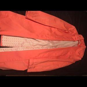 Amanda Smith Other - Amanda Smith Creamsicle Trench Coat
